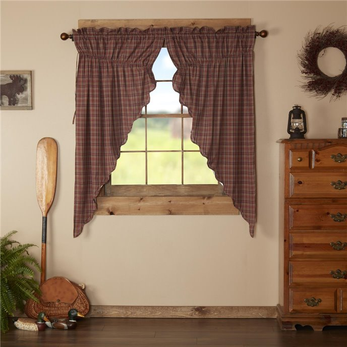 Parker Scalloped Prairie Short Panel Set of 2 63x36x18 Thumbnail