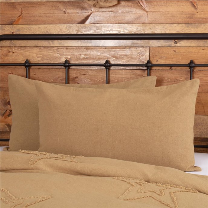 Burlap Natural King Sham Thumbnail