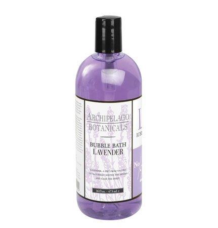 Archipelago Lavender Bubble Bath (16 fl oz) Thumbnail