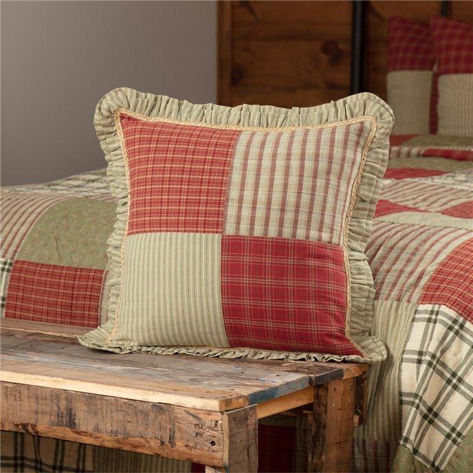 Prairie Winds Patchwork Pillow 18x18 Thumbnail