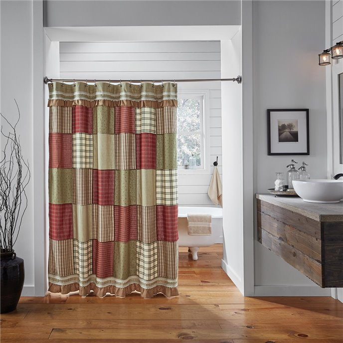 Prairie Winds Shower Curtain 72x72 Thumbnail
