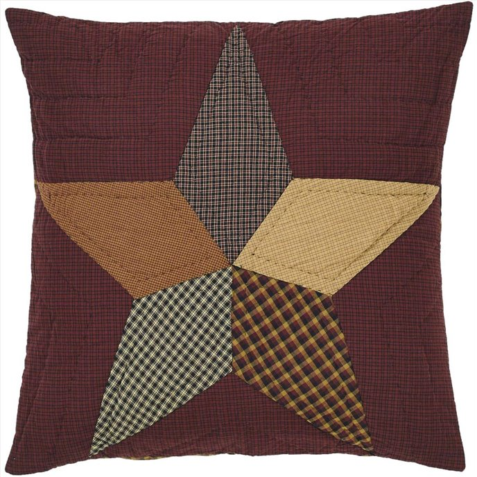 Folkways Star Quilted Euro Sham 26x26 Thumbnail