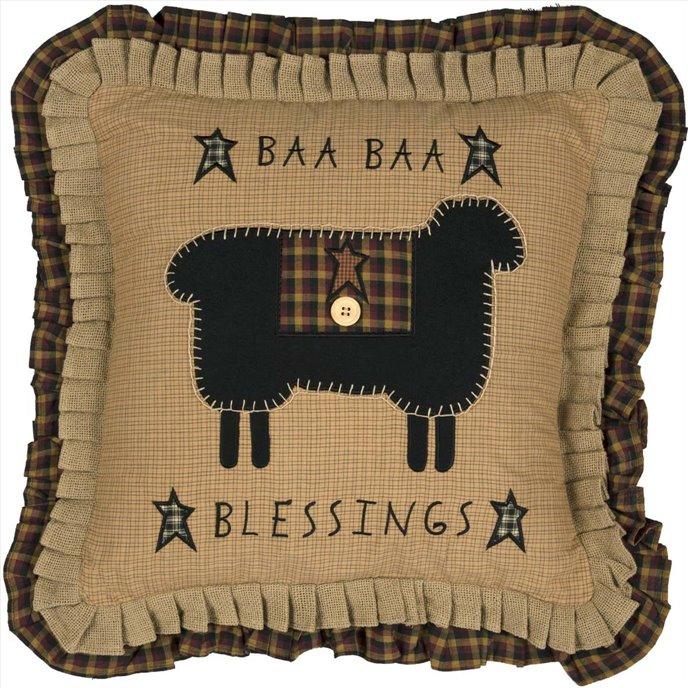 Heritage Farms Baa Baa Blessings Pillow 18x18 Thumbnail