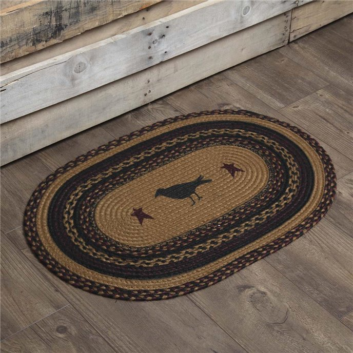 Heritage Farms Crow Jute Rug Oval 20x30 Thumbnail