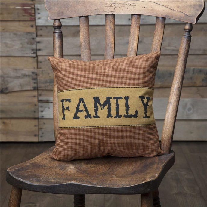 Heritage Farms Family Pillow 12x12 Thumbnail