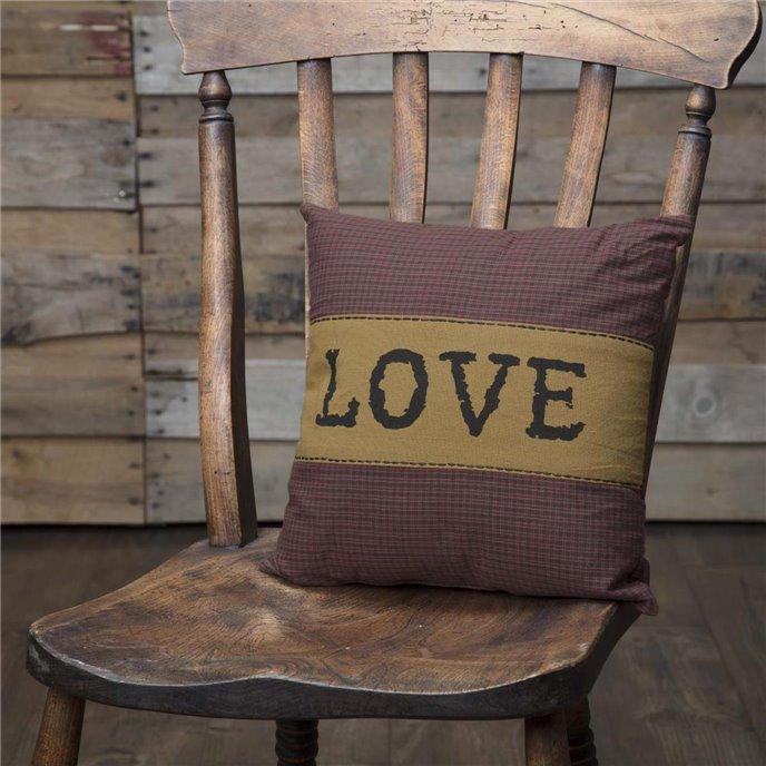 Heritage Farms Love Pillow 12x12 Thumbnail