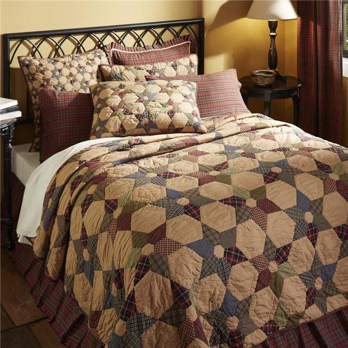 Tea Star Luxury King Quilt 120Wx105L Thumbnail