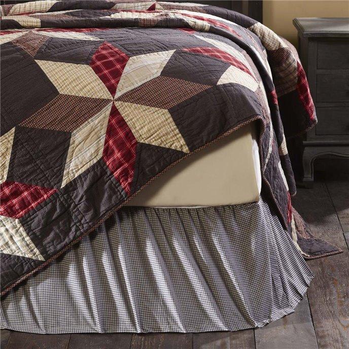 Liberty Stars King Bed Skirt 78x80x16 Thumbnail