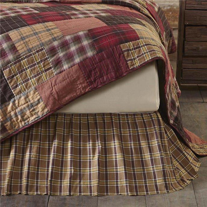Wyatt King Bed Skirt 78x80x16 Thumbnail
