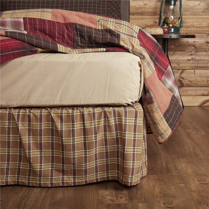 Wyatt Queen Bed Skirt 60x80x16 Thumbnail
