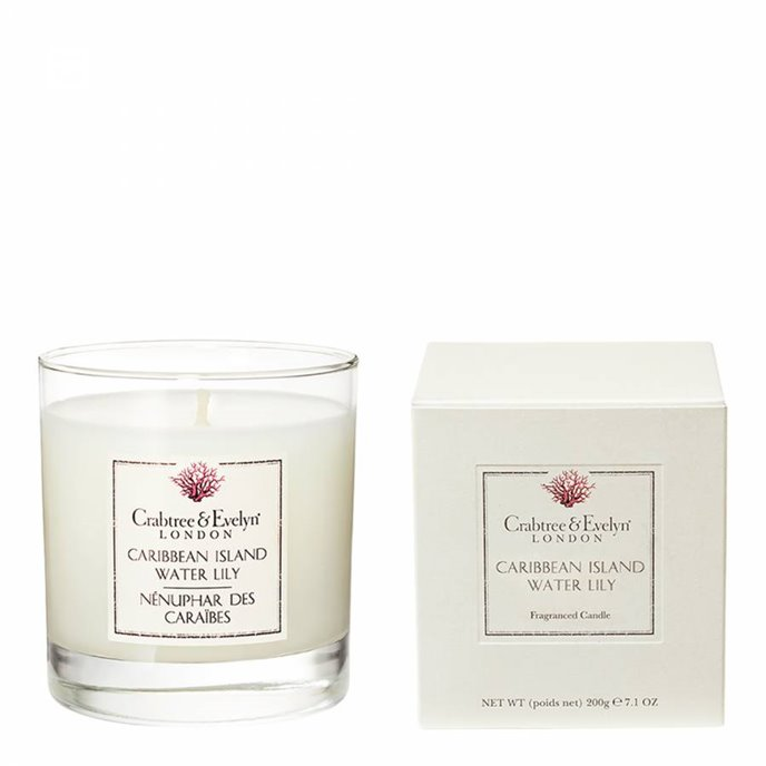Caribbean Island Water Lily Candle by Crabtree & Evelyn Thumbnail
