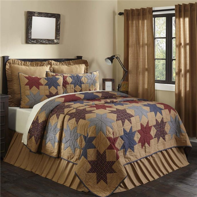 Kindred Star Luxury King Quilt 120Wx105L Thumbnail