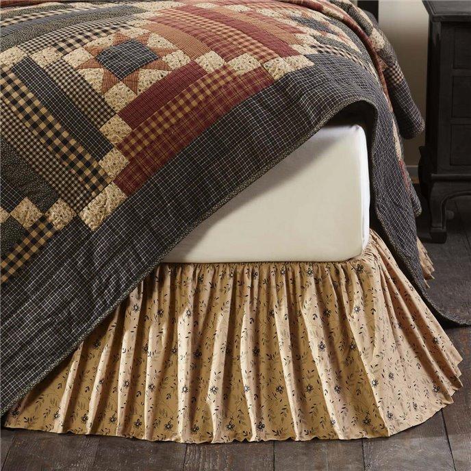 Maisie King Bed Skirt 78x80x16 Thumbnail