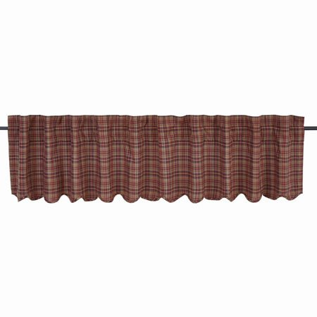 "Parker Scalloped Valance 16""x90"" Thumbnail"