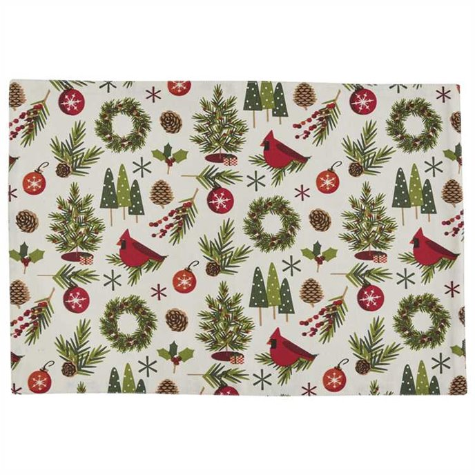 Christmas Greenery Placemat Thumbnail