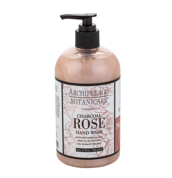 Archipelago Charcoal Rose Hand Wash Thumbnail