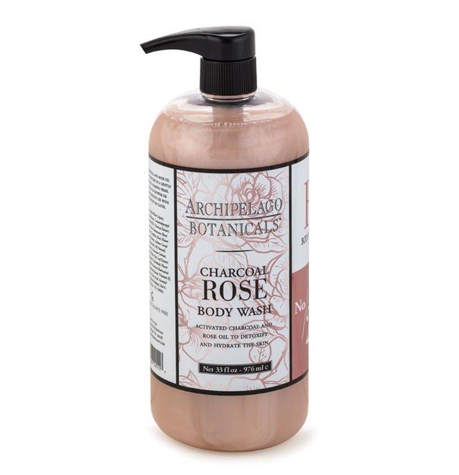 Archipelago Charcoal Rose Body Wash 33 oz. Thumbnail