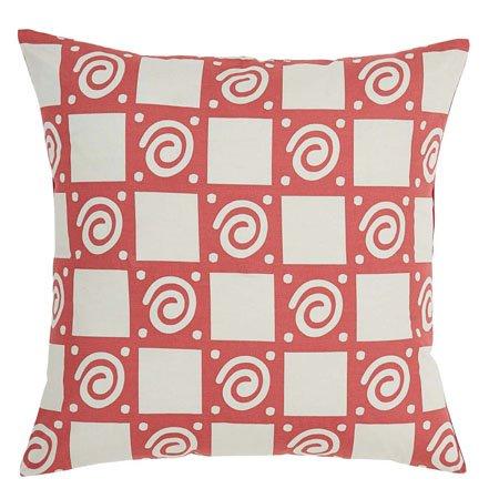 Paloma Crimson Fabric Euro Sham Thumbnail