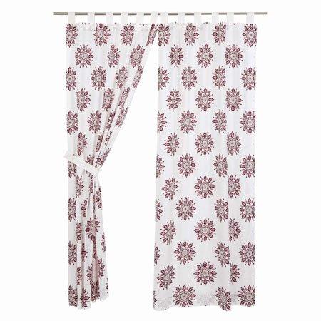 "Mariposa Fuchsia Panel Set of 2 84""x40"" Thumbnail"