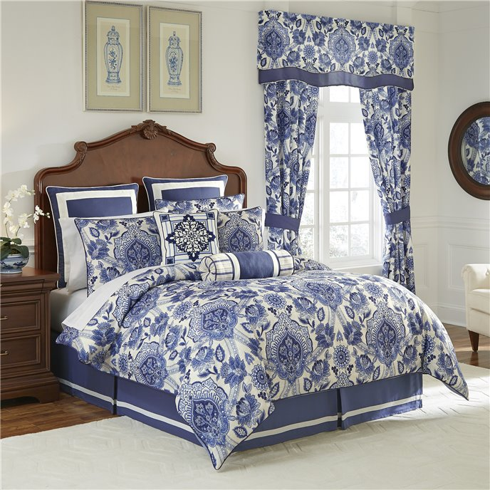 Leland Queen 4 Piece Comforter set Thumbnail