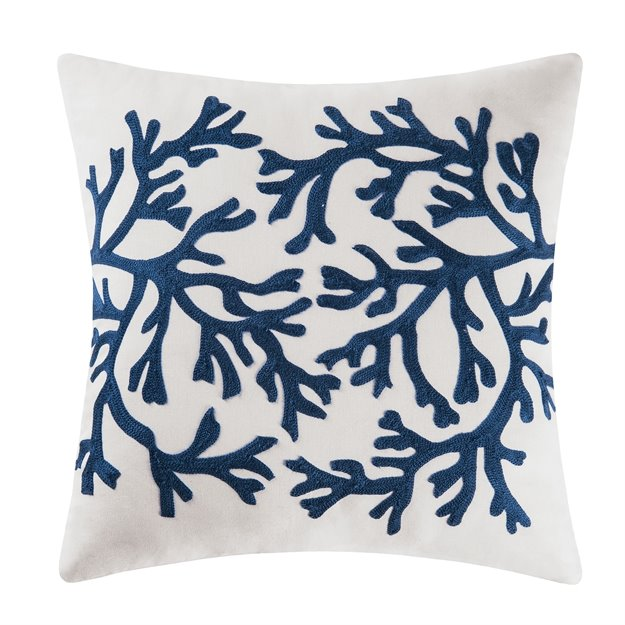 Blue Coral Pillow Thumbnail
