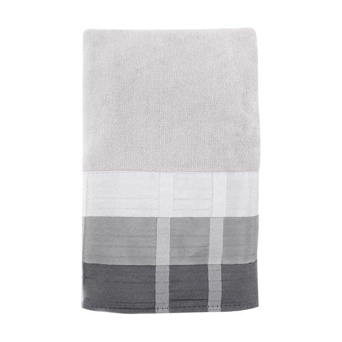 Fairfax Hand Towel Black 16X28 Thumbnail