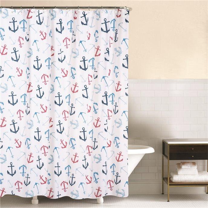 Anchors Away Shower Curtain Thumbnail