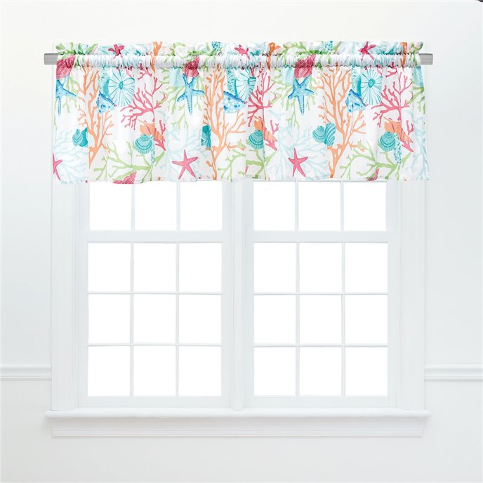 Caribbean Splash Unlined Valance Thumbnail