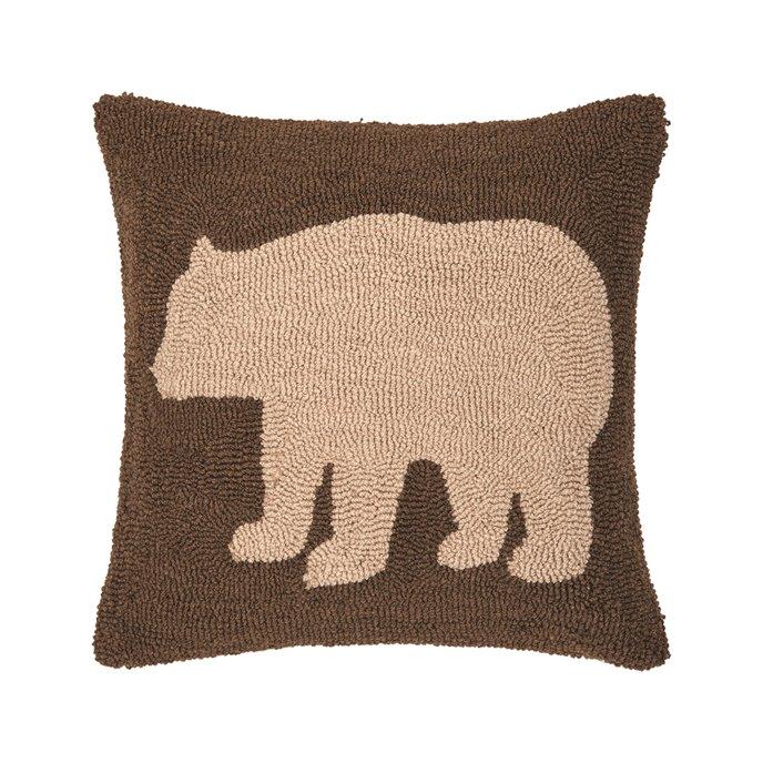Bear Hooked Pillow Thumbnail