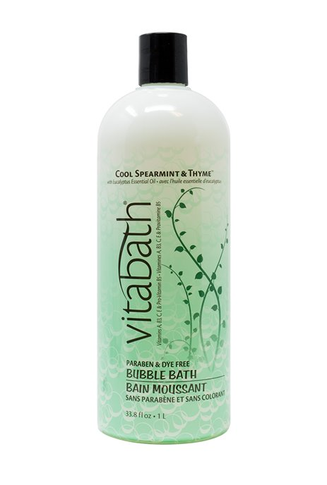 Vitabath  Cool Spearmint and Thyme Bubble Bath (33.8 fl oz) Thumbnail
