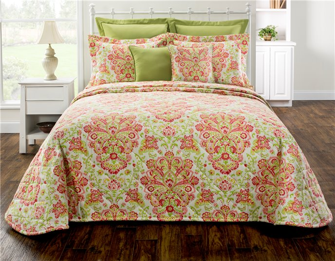 Provence Poppy Queen Bedspread Thumbnail