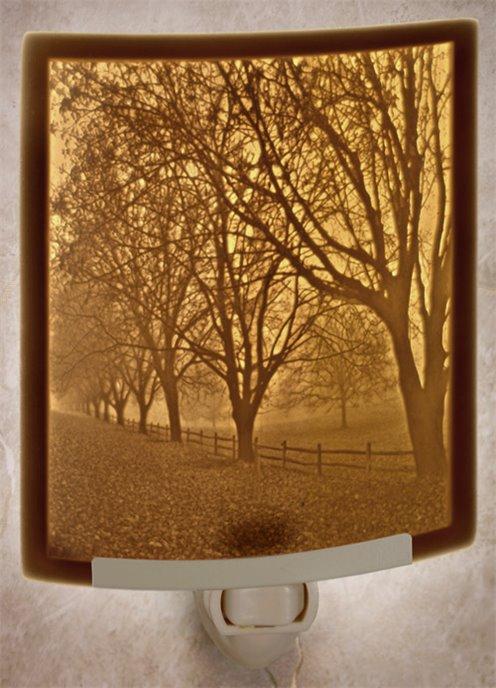 Misty Meadows Night Light by The Porcelain Garden Thumbnail
