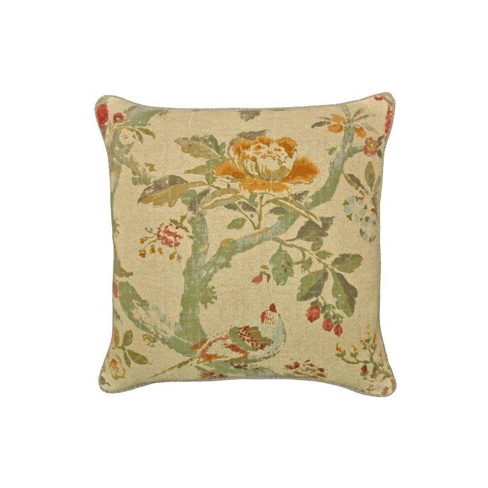 Biccari Floral Throw Pillow Thumbnail