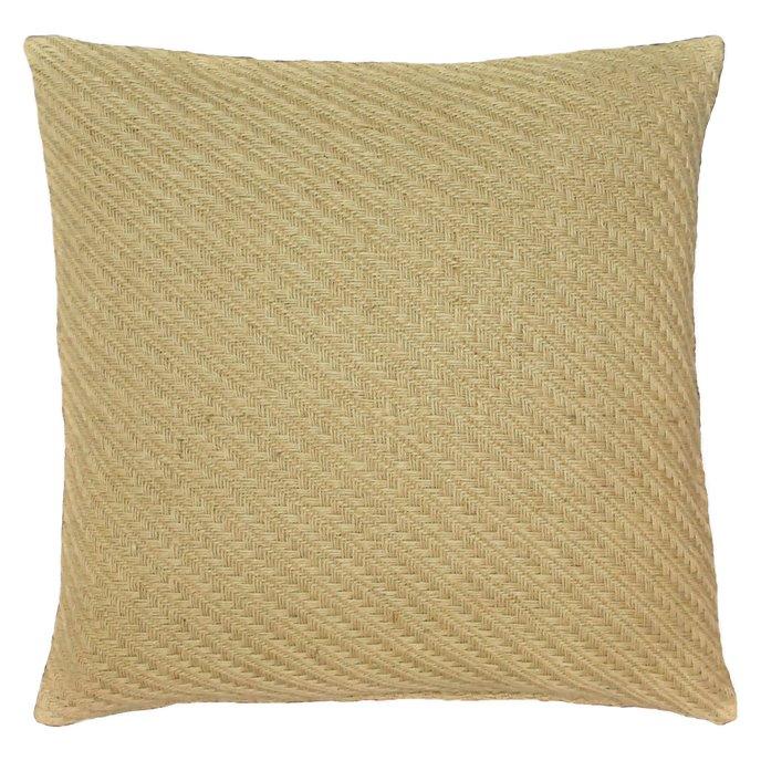Biccari Jute Throw Pillow Thumbnail