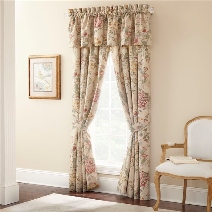 Biccari Floral Window Valance Thumbnail