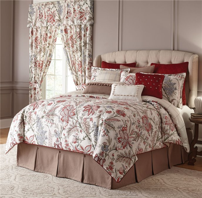 Izabelle 4 Piece Queen Comforter Set Thumbnail