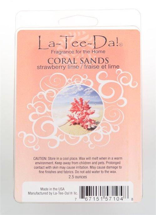 La-Tee-Da Wax Melts Coral Sands Thumbnail