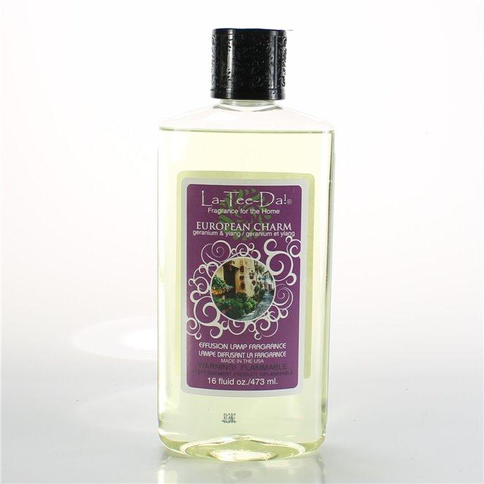La Tee Da Fuel Fragrance European Charm (16 oz.) Thumbnail