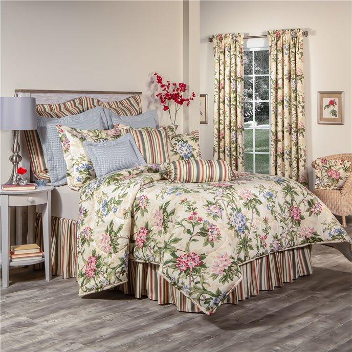 """Hillhouse Full Comforter Set with 15"""" Bed Skirt Thumbnail"""