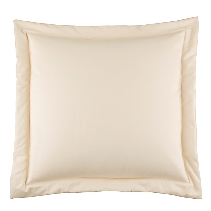 Hillhouse Solid Cream European Sham Thumbnail