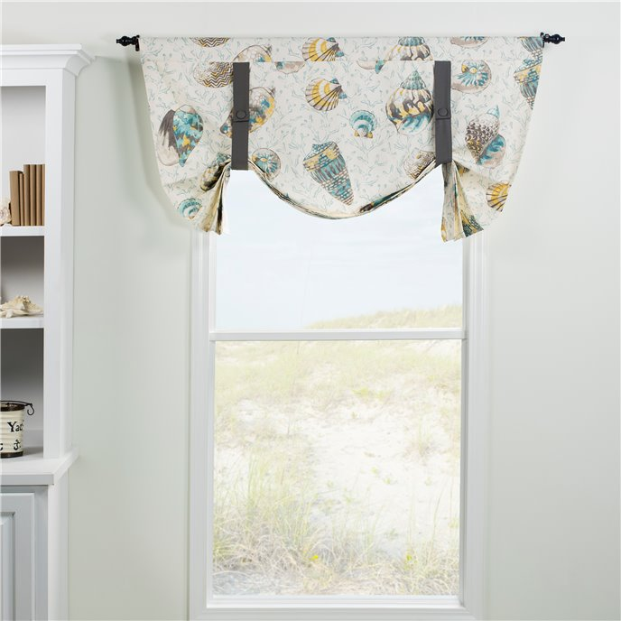 Seaside Treasures Caribbean Tie Up Curtain Thumbnail