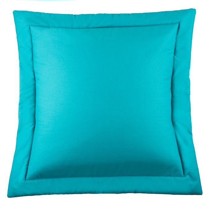 West Bay Solid Euro Sham - Teal Thumbnail