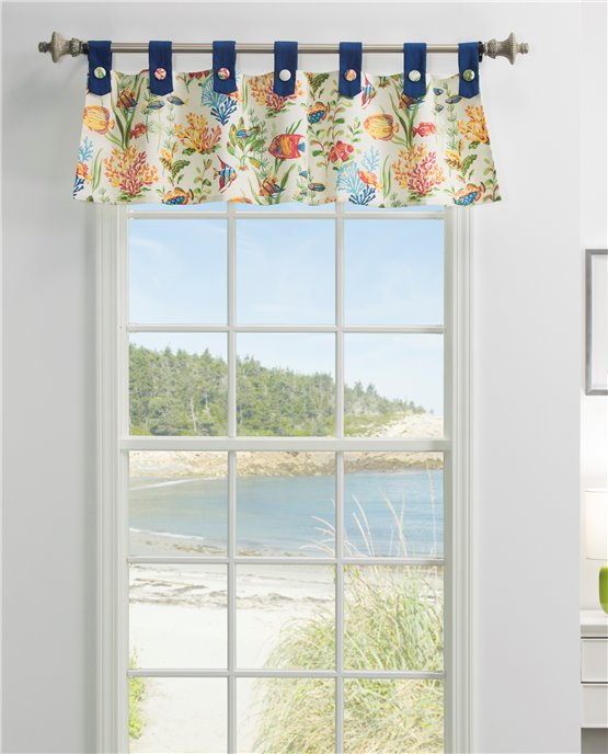 West Bay Tab Valance Thumbnail