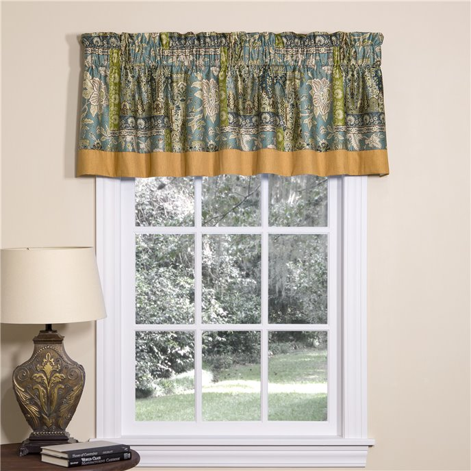 Tangier Tailored Valance with Band Thumbnail