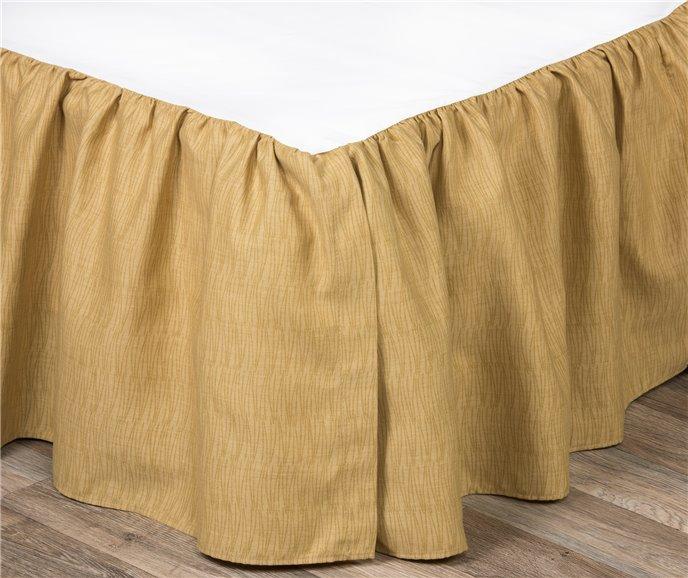 "Wailea Coast Bloom Bed Skirt-Queen 15"" drop Thumbnail"