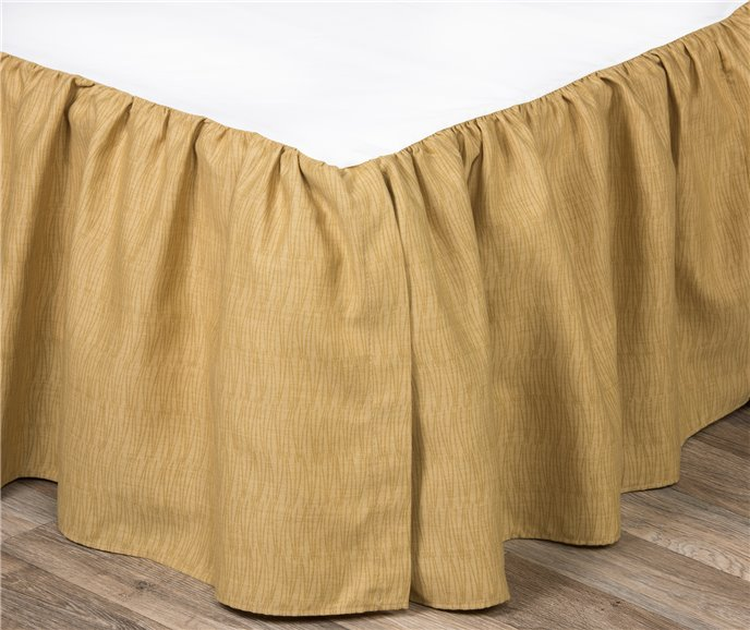 "Wailea Coast Bloom Bed Skirt-California King 15"" drop Thumbnail"