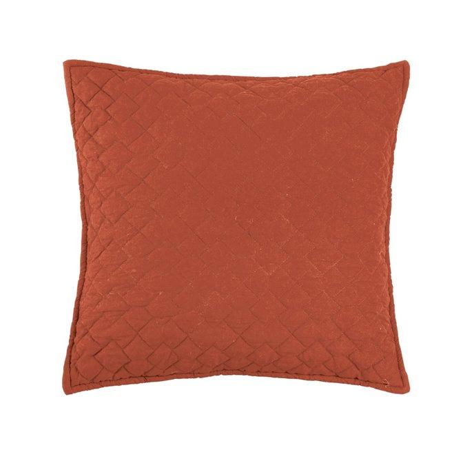 Regent Paprika Quilted Pillow Thumbnail
