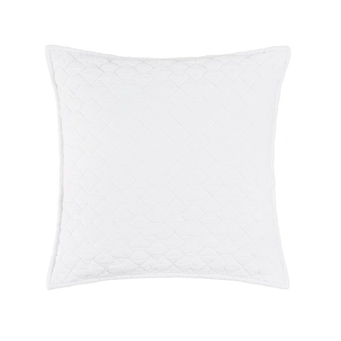 Regent White Quilted Pillow Thumbnail