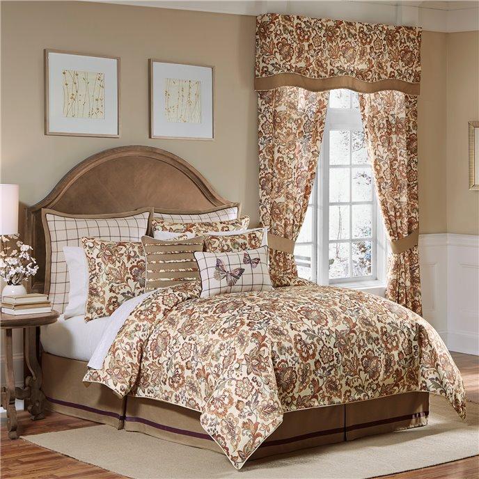 Croscill Delilah 4-piece Cal King Comforter Set Thumbnail