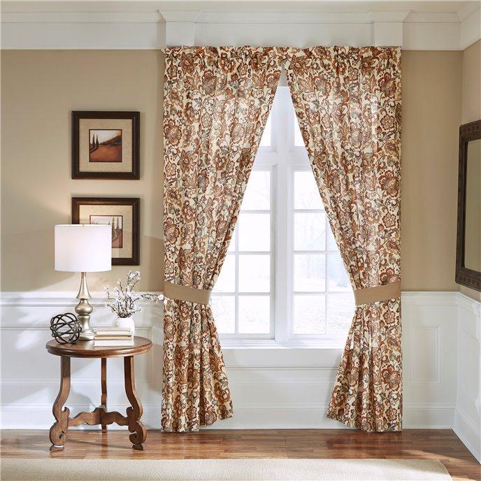 "Croscill Delilah 84"" Curtain Panel Pair Thumbnail"